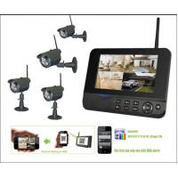 China HD Digital Night Vision Wireless Surveillance Camera Systems Real Time Monitoring on sale