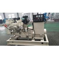 Three Phase Marine Diesel Generator Set 80KW 100KVA 60Hz 24VDC Starting Motor Manufactures