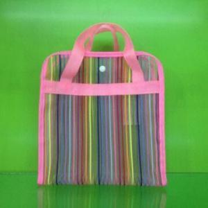 China New mesh fashion bag, new style, mesh bag, wash bag on sale