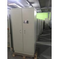 Chemical Security Hazardous Storage Cabinets White With Electronic Lock filing cabinet Manufactures