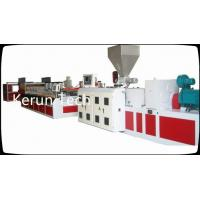 Quality PVC Foam Board Machine  / WPC Board Production Line For Building Templates for sale