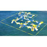 TUV Certification Giant Inflatable Floating Water Park For Sea / Aqua Park Supplier Manufactures