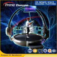 2 Player Outdoor Amusement Park 9D VR Simulator With Immersive VR Gaming Experience Manufactures