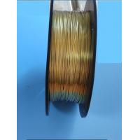 Buy cheap Custom Ribbon Speaker Wire Conduct Electricity Copper Tape 1.0* 0.3 Mm from wholesalers