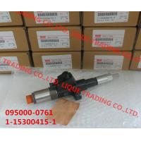 Quality DENSO Common rail injector 095000-0760, 095000-0761 ISUZU 1-15300415-1 , 1153004151 for sale