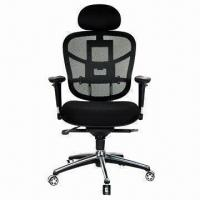 Ergonomic Office Chair with High-quality Aluminum Alloy Swivel Manufactures