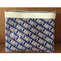 Sewing Printing Polythene Gift Bags , Promotional Heat Seal PVC Cosmetic Bags Manufactures