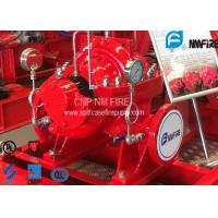 UL FM Approved Horizontal Split Case Fire Pump 500GPM / 312 Feet NFPA20 Standard Manufactures