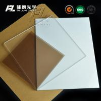 Milky White Acrylic Sheet 5mm Thick , Heat Resistant Plexiglass Sheets Durable Manufactures