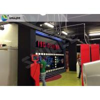 Truck Mobile Cinema 5D Movie Theater Motion Cinema Theater System Special Effect Manufactures
