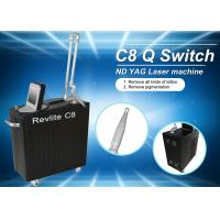 532nm Freckle Removal Q Switched Nd Yag Laser Machine / Skin Rejuvenation Machine Manufactures