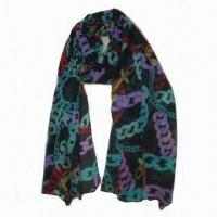 Women's Scarf with Unique Pattern, Made of Cotton, Various Colors are Available Manufactures