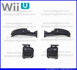 Wiiu Game Pad L R ZL ZR button repair parts Manufactures