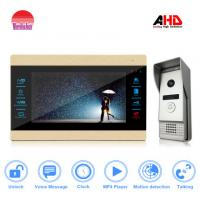new arrival home security system 10inch lcd monitor video door phone with ce fcc rohs camera Manufactures