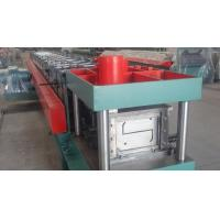 Width 100 - 300mm Z Type Purlin Cold Roll Forming Machine For Exhibition Building Manufactures