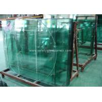 China Doors Coated Tempered Safety Glass Decorative Curved Toughened Glass on sale