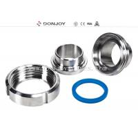China 3A union Stainless Steel Sanitary Fittings DIN union with EPDM PTFE VITION on sale
