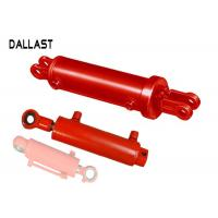 Agricultrual Double Acting Hydraulic Ram Steel Custom Chromed Cylinder Piston Type