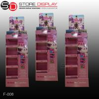 Recycled retail store corrugated cardboard POP display shelf Manufactures