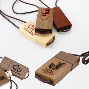 China Lanyard Eco-Friendly Wooden Thumb Drive, Wooden USB Pen Drive Lanyard USB on sale