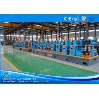6 Inch Straight Welded Tube Mill Machine 6mm Thickness Worm Gearing ISO9001 Manufactures