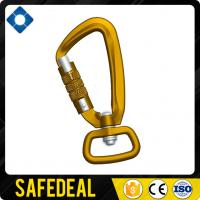 Anodized Swivel Aluminum Carabiner with 25.1mm Ring Manufactures