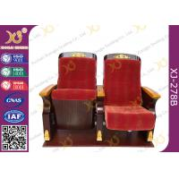 Commercial Triangle Arm Conference Room Church Seats / Auditorium Chair Manufactures