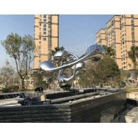 Outdoor Famous Abstract Sculptures Modern Style For Square Decoration
