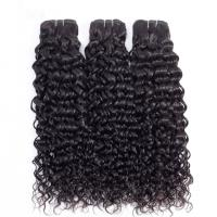 Indian Water Wave 100 Unprocessed Virgin Hair Extensions Natural Hair Weaves Manufactures