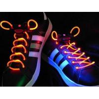 Quality Final Sale White LED Flashing Shoelace for sale