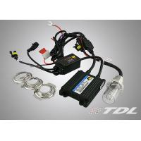 35W Motorcycle Hid Lights HID Xenon Conversion Kits H6 HID With High Voltage Power Line Manufactures