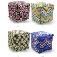 Large bolster cushion,repeat vector graphic cushion,beads filling pouf floor cushion Manufactures