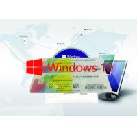 Win 10 Pro Label Sticker / FPP / OEM FQC-08929 64 Bits Made In Hong Kong Support 1 User Manufactures