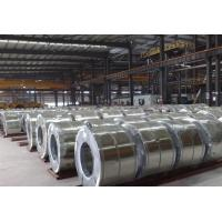 Spangle Chromated / Oiled JIS Hot Dipped Galvanized Steel Coils Manufactures