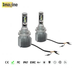 China LED car headlight bulb, 72W 6000k 8000lm LED Car Headlight Bulbs , Car Headlight H15 Bulb Super White Upgrade Kit on sale