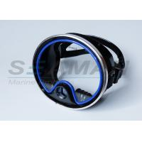 School oval silicone scuba diving snorkeling mask purge valve / silicone skirt Manufactures