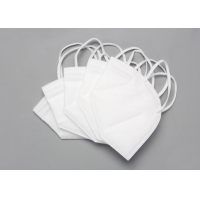 Disposable Nonwoven 5 Layer KN95 Foldable Dust Mask Manufactures
