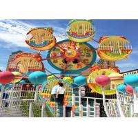6 Cabins Rotating Amusement Park Ferris Wheel With Galvanized Steel Material for sale