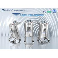 Men High Intensity Focused Ultrasound Machine , Vertical Ultrasound Slimming Machine Manufactures
