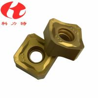 Tungsten Carbide Milling Machine Cutting Tools , CNC Milling Inserts High Cutting Speed Manufactures