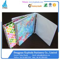Printed PP cover paperboard ring binder Manufactures