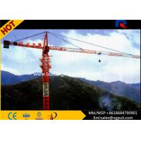 China Building Tower Crane Self - Erecting Hammer Head With Electric Box Schneider on sale