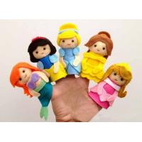 Lovely Cartoon Disney Princess Felt Finger Puppets For Promotion Gifts And Premium Manufactures