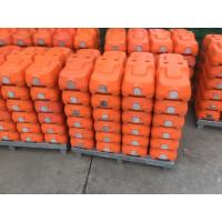 China plastic temporary fence stands feet base on sale