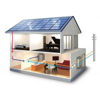 Residential Solar Electricity Systems Solar Panel Power System 4500W Load Power Manufactures