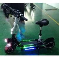 Portable 11 Inch Folding Motorized Scooter , Electric Folding Scooter For Adults Manufactures