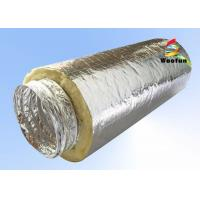 Quality Air Conditioning Fiberglass Flame retardant Aluminum Insulated Flexible Ducts for sale