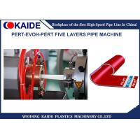 China Five Layers PERT-EVOH Pipe Production Line/Oxygen barrier composite PERT tube machine 20mm on sale