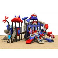 China CE / ISO Kids Outdoor Plastic Slide , Children'S Plastic Outdoor Play Equipment on sale