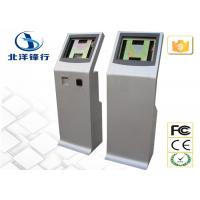 Business Ticketing / Coupon Self Service Banking Kiosk With Touch Screen Manufactures